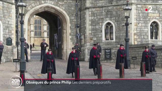 Obsèques du prince Philip : derniers préparatifs au château de Windsor