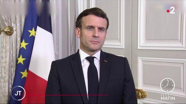 Covid-19: Emmanuel Macron promet un vaccin pour tous