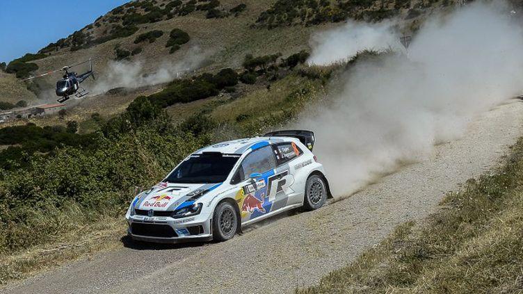 Sébastien Ogier (VW Polo-R) (ANDREAS SOLARO / AFP)