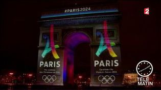 Paris se positionne pour accueillir les JO en 2024. (FRANCE 2)