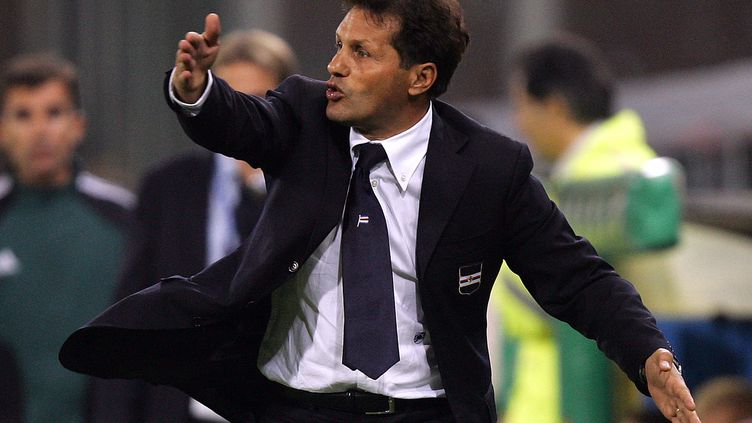 Walter Novellino, nouvel entraîneur de Palerme.  (PACO SERINELLI / AFP)