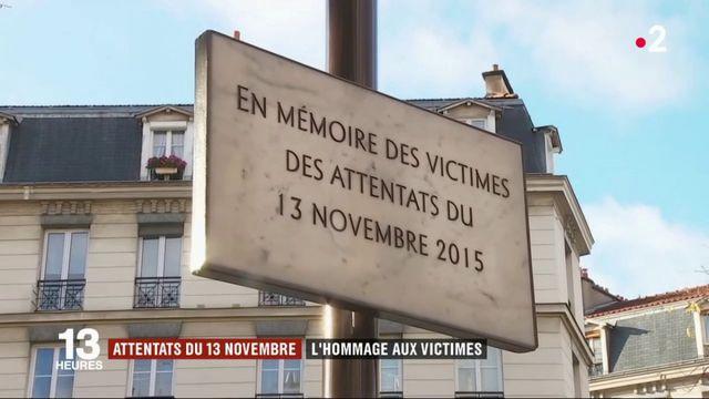 Attentats du 13-Novembre : plusieurs cérémonies d'hommage organisées à Paris