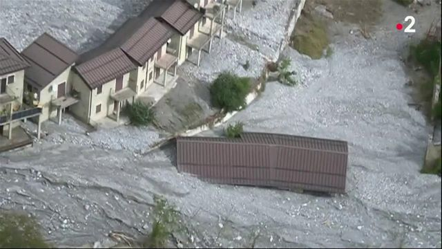 Tempête Alex : le village de Tende est détruit