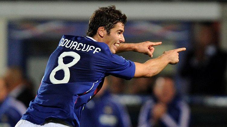 L'entraîneur de Lorient Christian Gourcuff (PATRICK HERTZOG / AFP)