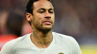 L'attaquant du PSG Neymar lors de la finale de la Coupe de France, samedi 27 avril 2019 au Stade de France à Saint-Denis (Seine-Saint-Denis). (MUSTAFA YALCIN / ANADOLU AGENCY / AFP)
