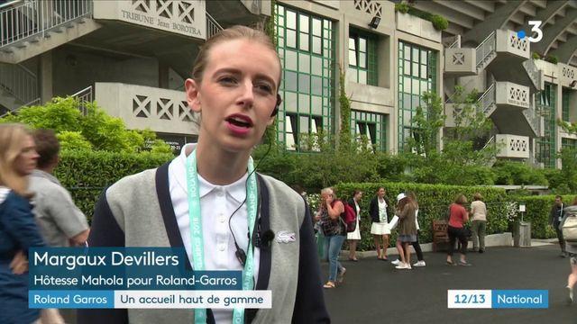 Roland Garros : un accueil haut de gamme