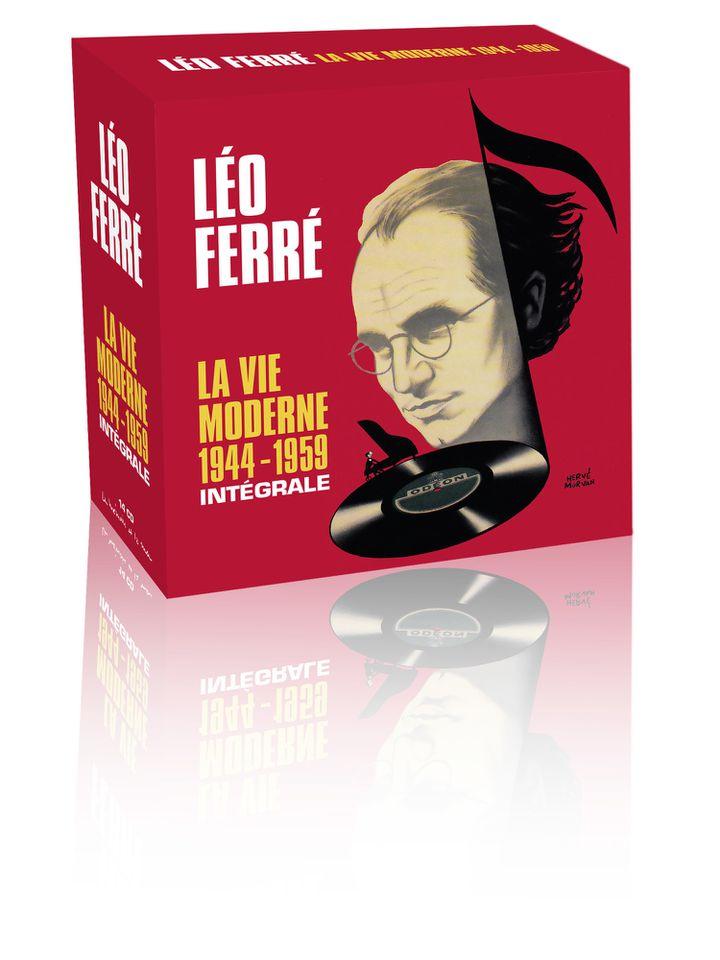 """Coffret Léo Ferré """"La vie Moderne""""  (La Mémoire et la Mer)"""