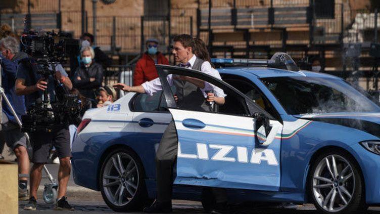"""Le gouvernement britannique avait autorisé début juillet la reprise des tournages de """"Mission Impossible 7"""". (ANDREW MEDICHINI/ AP/SIPA)"""