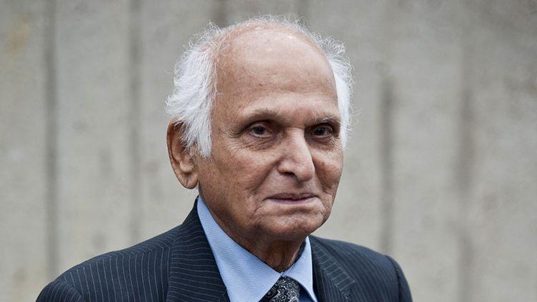 L'écrivain Intizar Hussain le 20 mai 2013 à Londres  (Will Oliver / AFP)