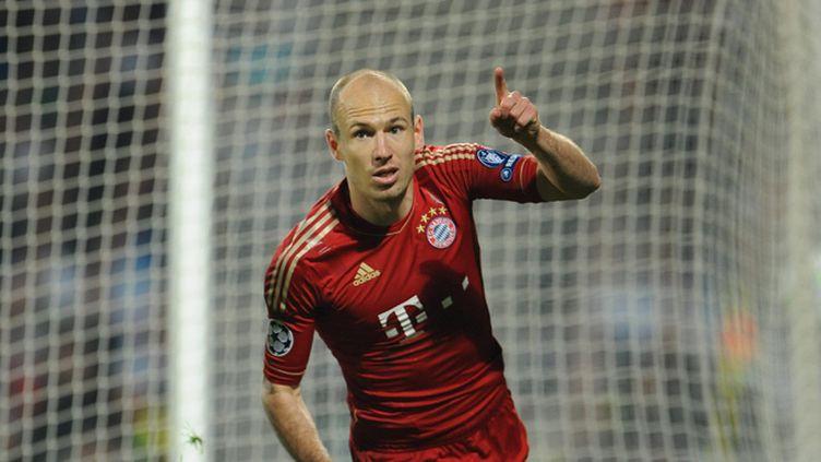 Arjen Robben a assuré la victoire des siens contre Zurich (2-0) (ANDREAS GEBERT / MAXPPP)