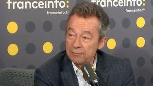 Michel Denisot, mardi 6 mars, sur franceinfo. (RADIO FRANCE)