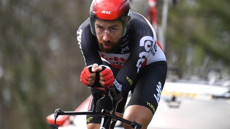 Thomas de Gendt est l'un des fers de lance de l'équipe Lotto Soudal. (ALAIN JOCARD / AFP)