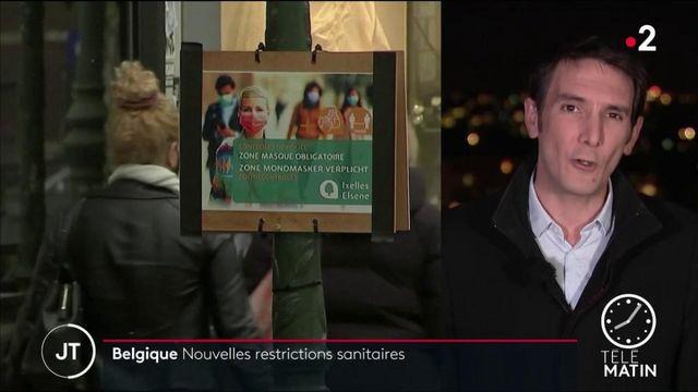 Belgique: de nouvelles restrictions sanitaires pour lutter contre le coronavirus