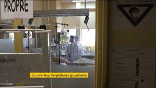Dans un hôpital en Guyane (FRANCEINFO)