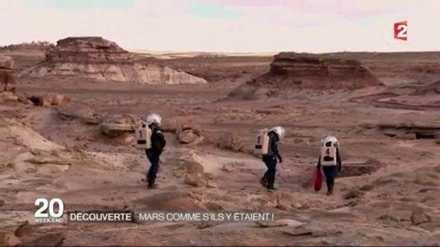 Espace : simulation de vie sur Mars pour les Toulousains