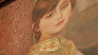 Julie Manet peint par Jean Renoir (Capture d'écran France 2)