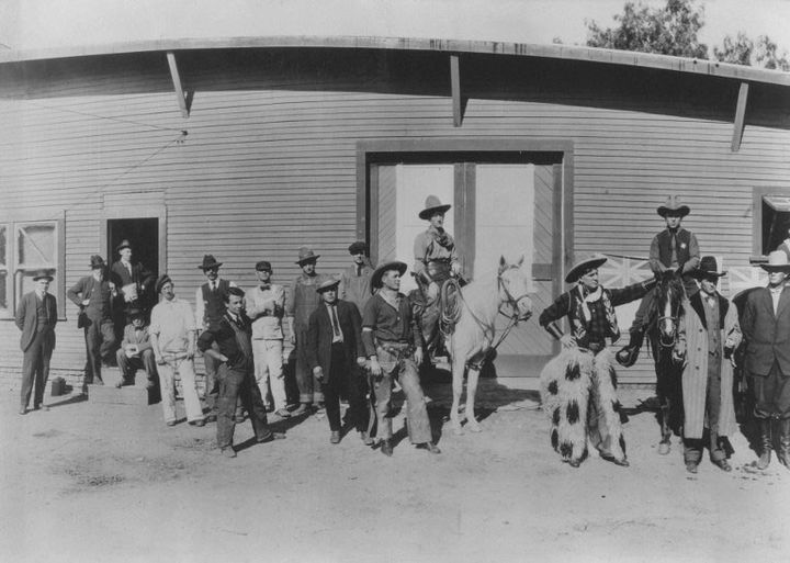 """""""The Squaw Man"""" de Cecil B. DeMille (1914), premier long métrage tourné à Hollywood  (Kobal / The Picture Desk)"""
