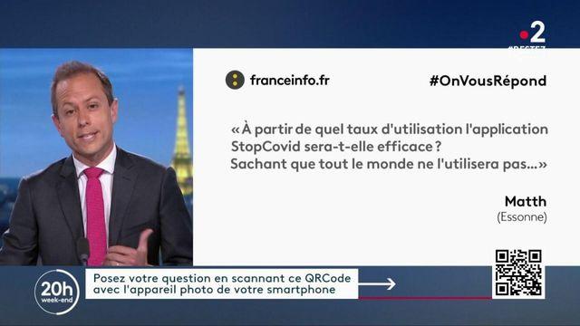 #OnVousRépond : faut-il un nombre d'utilisateurs précis pour que l'application Stop Covid soit efficace ?