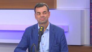 Le psychiatreAntoine Pelissolo, porte-parole du collectif Inter-Hôpitaux, invité de franceinfo jeudi 14 novembre 2019; (FRANCEINFO)