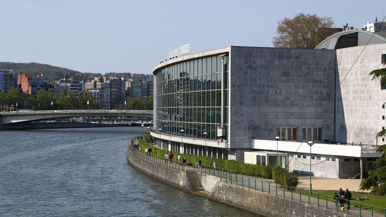 Le palais des congrès de Liège (Belgique), le 1er mai 2016. (MAXPPP)