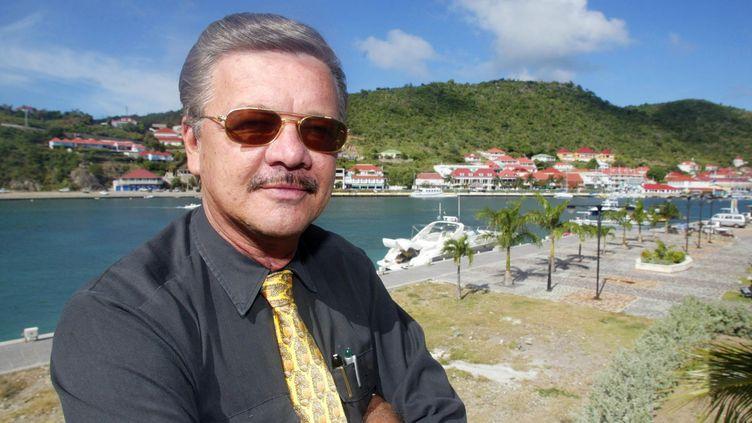 Bruno Magras,le président de la collectivité de Saint-Barthélemy. (MARCEL MOCHET / AFP)