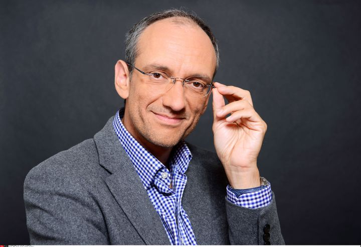 Frédéric Encel, le 26 septembre 2014à Paris. (BALTEL / SIPA)