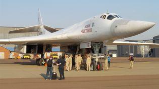 Bombardiers Tupolev des forces armées russes (photographiés sur une base aérienne près de Pretoria en Afrique du Sud le 23 octobre 2019) (VITALY MAKARCHEV/TASS/SIPA USA/SIPA / SIPA USA)