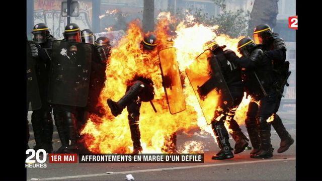 1er mai : violents affrontements en marge d'un défilé