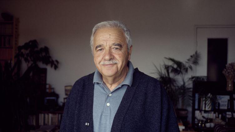 L'historien et écrivain Maurice Rajsfuschez lui en 1996. (LOUIS MONIER / GAMMA-RAPHO / GETTY IMAGES)