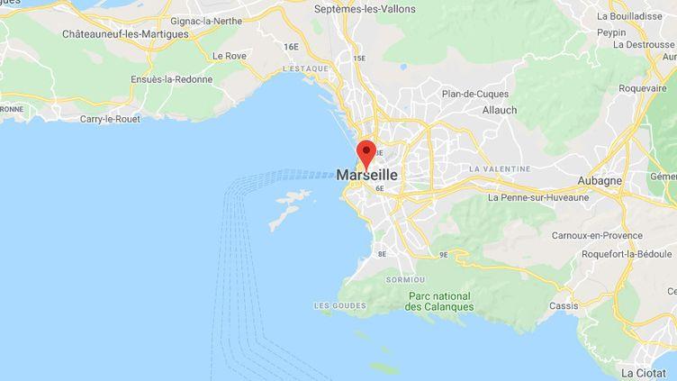 Marseille (Bouches-du-Rhône) (GOOGLE MAPS)