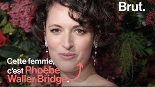 """VIDEO. Qui est Phoebe Waller-Bridge, la créatrice déjantée de la série """"Fleabag"""" ? (BRUT)"""