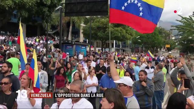 Venezuela : défilé à Caracas contre Nicolas Maduro