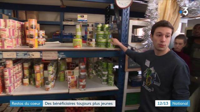 Isère : des étudiants s'investissent pour les Restos du cœur