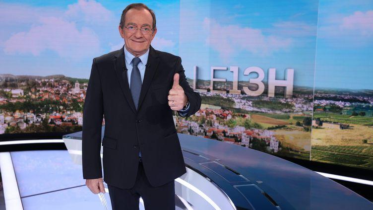 Jean-Pierre Pernaut quittera le 13h de TF1 à la fin de 2020. (OLIVIER LEJEUNE / MAXPPP)