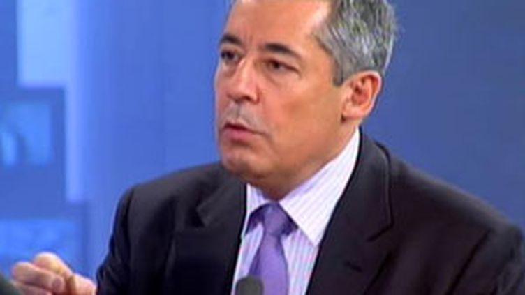 Le conseiller spécial de Nicolas Sarkozy, Henri Guaino. (© France 2)