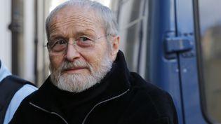 Maurice Agnelet arrive au palais de justice de Rennes (Ille-et-Vilaine), le 9 avril 2014. ( STEPHANE MAHE / REUTERS)