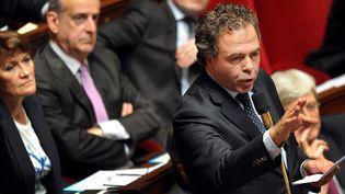 Luc Chatel, député UMP de Haute-Marne, le 24 avril 2013 à l'Assemblée nationale. (PIERRE ANDRIEU / AFP)