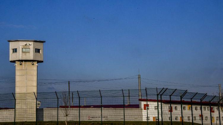 La prison de Vendin-le-Vieil, dans le Pas-de-Calais. (PHILIPPE HUGUEN / AFP)
