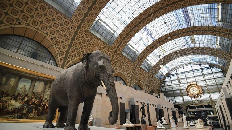 Le hall du musée d'Orsay à Paris (24 mars 2021) (ALAIN JOCARD / AFP)