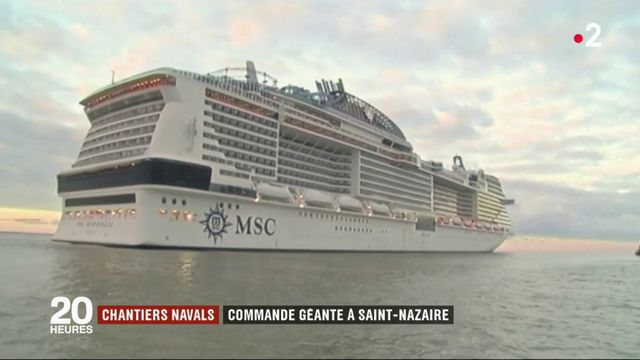 Chantiers navals : commande géante à Saint-Nazaire