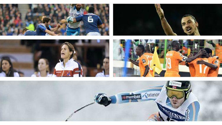 Six Nations, L1, Fed Cup, CAN et Ski au programme du week-end