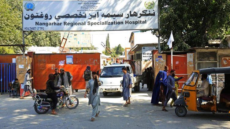 L'hôpital régional spécialisé de Nangarhar après des explosions à Jalalabad, en Afghanistan, le 18 septembre 2021. (AFP)