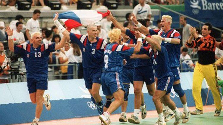 """Les """"Barjots"""" fêtent leur médaille de bronze à Barcelone"""