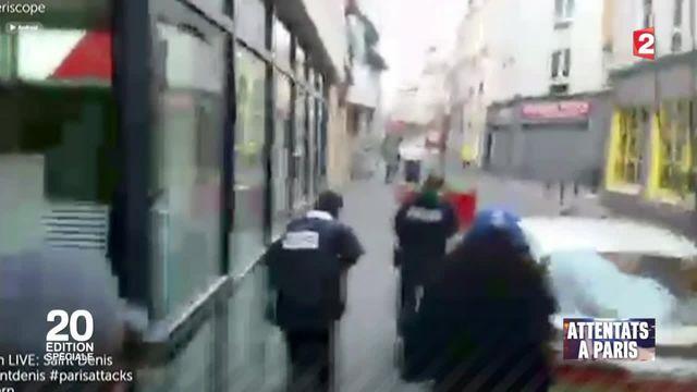 Assaut à Saint-Denis : scènes de guerre en pleine rue