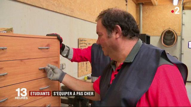 Poitiers : des meubles à prix réduits pour les étudiants