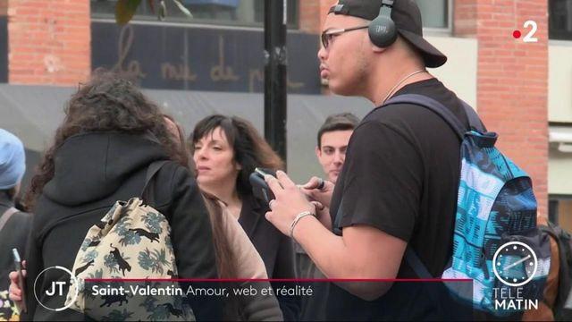 Saint Valentin : l'amour virtuel est-il durable ?