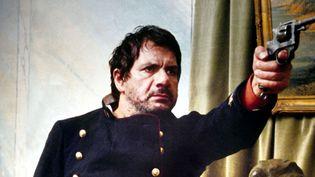 """Michel galabru dans """"Le juge et l'assassin"""" de Bertrand Tavernier en 1976, son rôle préféré qui lui avait valu le César du Meilleur acteur cette année là.  (Collection Christophel / AFP)"""