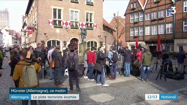 Véhicule-bélier à Münster : la piste terroriste écartée