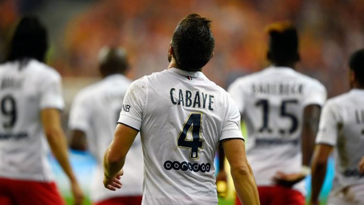Yohan Cabaye et Edinson Cavani, buteurs face à Lens (FRANCK FIFE / AFP)