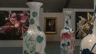 Le Domaine Pommery propose une exposition sur la thématique des fleurs. (X. Claeys / France Télévisions)